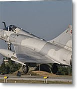 A Dassault Mirage 2000 Of The United Metal Print