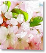 A Day In Spring Metal Print