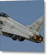 A Eurofighter F-2000 Of The Italian Air Metal Print