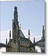 A Forest Of Spires - St Vitus Cathedral Prague Metal Print