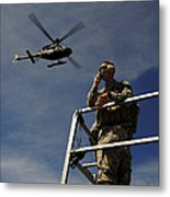 A Joint Terminal Attack Controller Metal Print