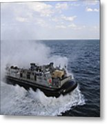 A Landing Craft Utility From Assault Metal Print