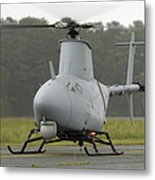 A Rq-8a Fire Scout Unmanned Aerial Metal Print