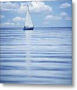 A Sailboat Metal Print