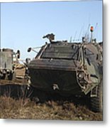 A Tpz Fuchs Armored Personnel Carrier Metal Print