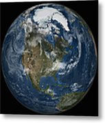 A View Of The Earth With The Full Metal Print