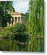 A View Of The Parthenon 17 Metal Print
