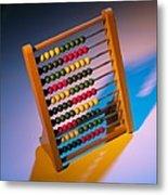 Abacus Metal Print