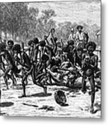 Aborigines, 19th Century Metal Print