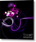 Abstract Eighteen Metal Print