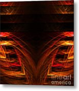 Abstract Forty-eight Metal Print