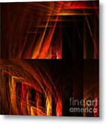 Abstract Forty-seven Metal Print
