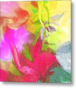 Abstract Garden Impressions Metal Print