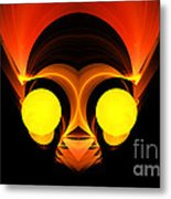 Abstract Twenty-six Metal Print