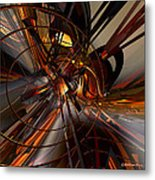 Abstructured Fx  Metal Print