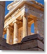 Acropolis Temple Metal Print by Brian Jannsen
