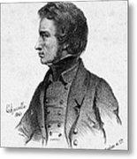 Adam Mickiewicz (1798-1855) Metal Print