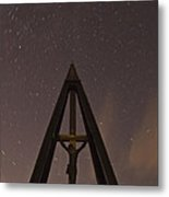 Against The Stars Metal Print