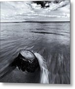Against The Tides Metal Print