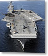 Aircraft Carrier Uss Carl Vinson Metal Print