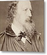 Alfred Tennyson Metal Print