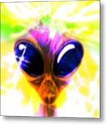 Alien, Artwork Metal Print