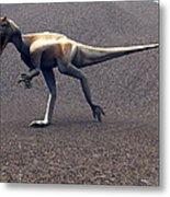 Allosaurus Dinosaur Metal Print