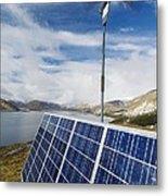 Alternative Energy Sources Metal Print