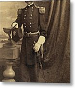 Ambrose Burnside, Union General Metal Print