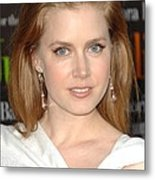 Amy Adams At Arrivals For Julie & Julia Metal Print by Everett