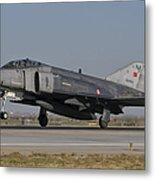 An F-4 Phantom Of The Turkish Air Force Metal Print