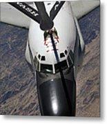 An Rc-135 Rivet Joint Reconnaissance Metal Print by Stocktrek Images