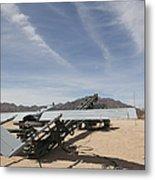 An Rq-7 Shadow Unmanned Aerial Vehicle Metal Print