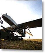 An Rq-7b Shadow Unmanned Aerial Vehicle Metal Print
