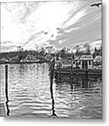 Anchor Inn Cove Metal Print