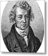 Andre Marie Ampere Metal Print
