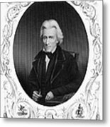 Andrew Jackson (1767-1845) Metal Print