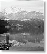 Annecy The Lake Metal Print