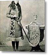 Annie Oakley (1860-1926) Metal Print
