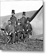 Antietam: Officials, 1862 Metal Print
