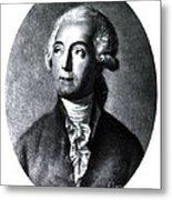 Antoine-laurent Lavoisier, French Metal Print
