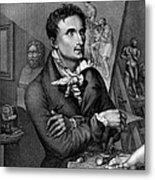 Antonio Canova (1757-1822) Metal Print