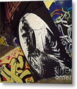 Apes Will Rise Metal Print