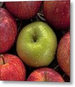Apples Metal Print by Joana Kruse