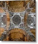 Arabian Ceiling Metal Print