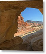 Arch Valley Of Fire Metal Print