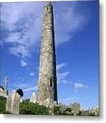 Ardmore Round Tower, Ardmore, Co Metal Print