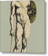 Ares, Greek God Of War Metal Print by Photo Researchers