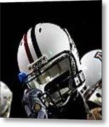 Arizona Football Helmets Metal Print