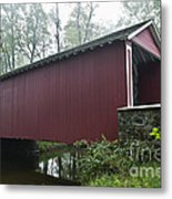 Ashland Covered Bridge Metal Print